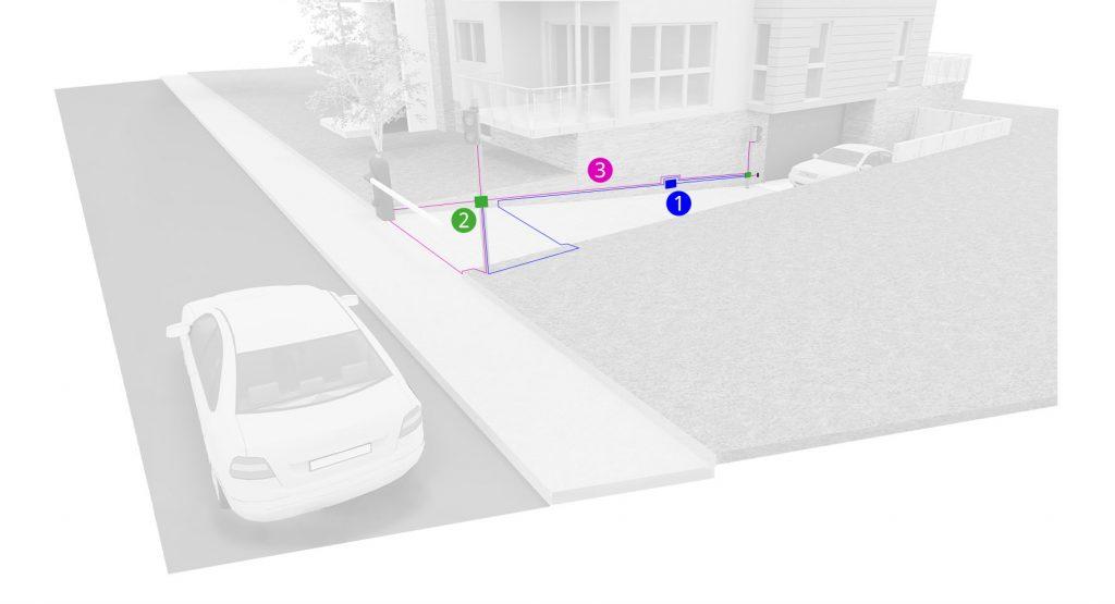 meccanismo funzionamento centralina semaforica abitazione privata