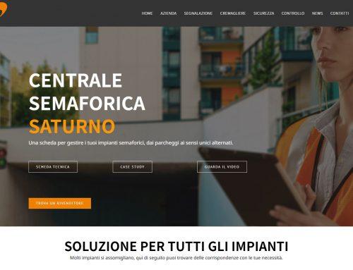 Nuova web page per SATURNO, la centralina per la gestione dei semafori: un prodotto a marchio Stagnoli