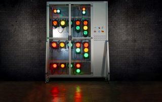 sistema di run-in per semafori